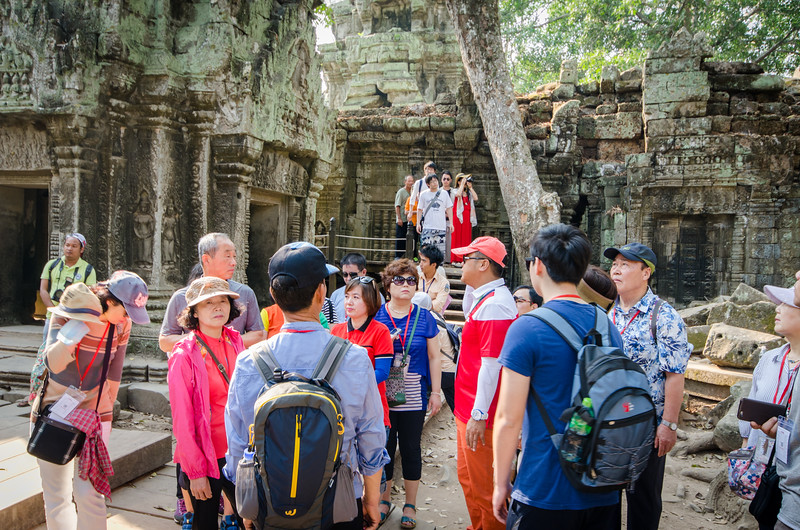 Ta Prohm is one of the more popular temples.