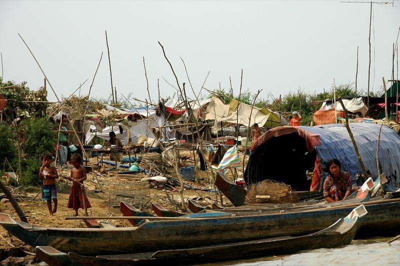 Riverbank - Battambang, Cambodia