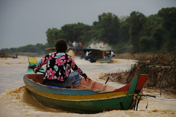 Tonle Sap Lake - Battambang, Cambodia