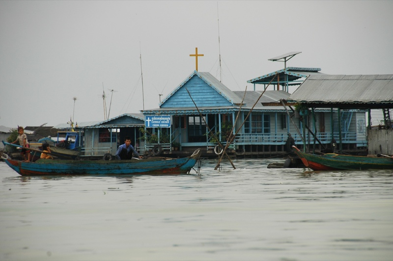 Floating Church - Battambang, Cambodia
