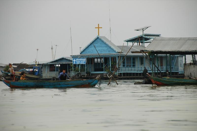 Floating Church - Battambang, Cambodia