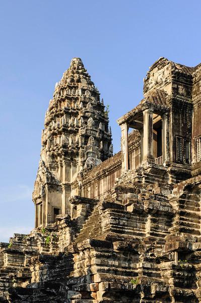 Towers of Angkor Wat
