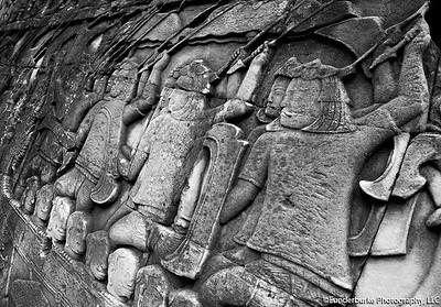 Wall Detail - Bayon