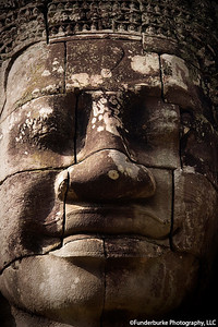 Face of Avalokitesvara - Angkor Thom