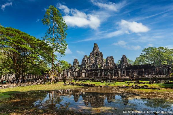 Bayon temple, Angkor Thom, Cambodia