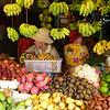 Fruit sellers at the Old Market in central Siem Reap, Cambodia.