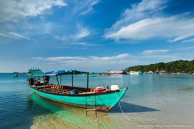 Boats in Sihanoukville