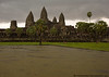 Rainstorm at Angkor Wat
