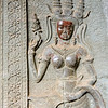 Heavenly dancer from Angkor Wat
