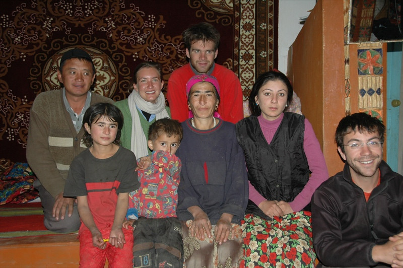 Pamiri Host Family in Namadgut, Tajikistan