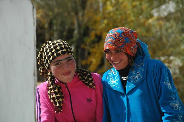 Pamiri Women - Garm Chashma, Tajikistan