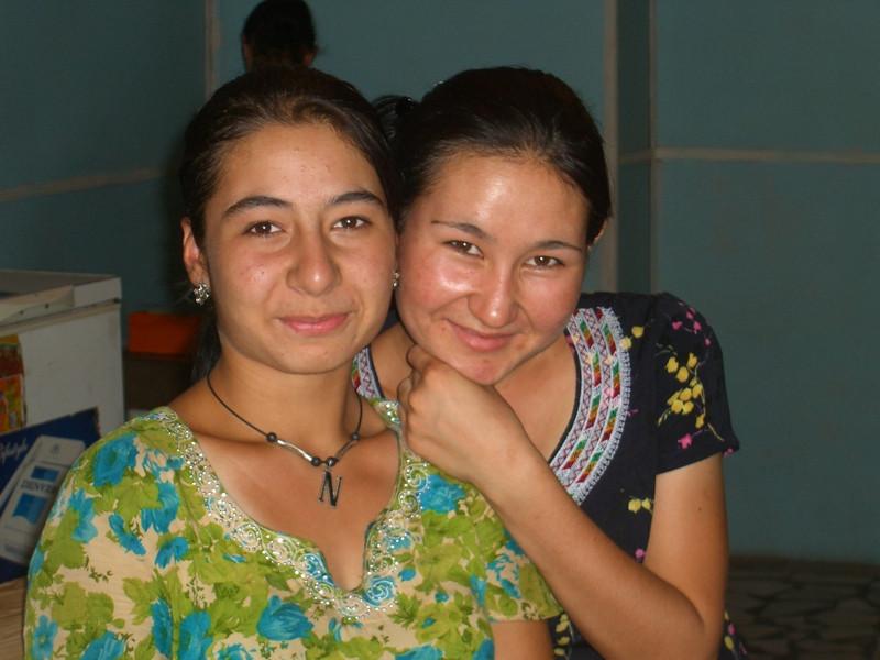 Women Vendors at Market in Mary, Turkmenistan
