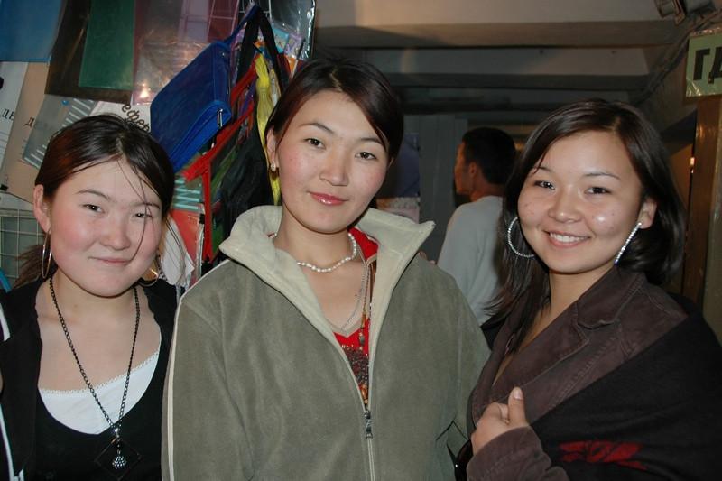 Kyrgyz Young Women in Bishkek, Kyrgyzstan