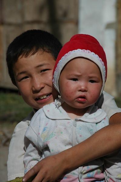Kyrgyz Kids - Karakol, Kyrgyzstan