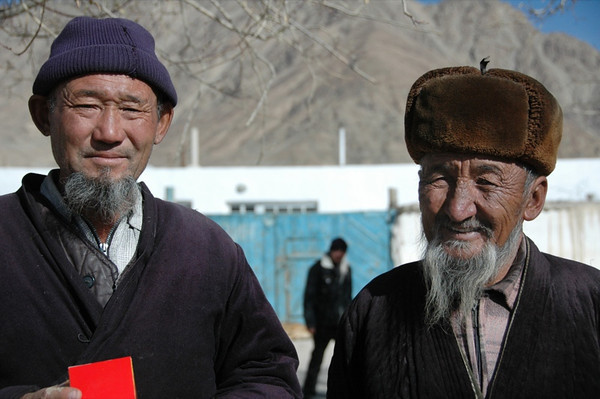 Close Kyrgyz Friends - Murghab, Tajikistan
