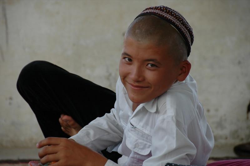 Boy with a Shaved Head - Paraw Bibi, Turkmenistan