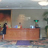Checking in at the SPG desk