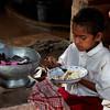 AS 249 - Indonesia, Lembata, Orphanage in Lamahora, Breakfast