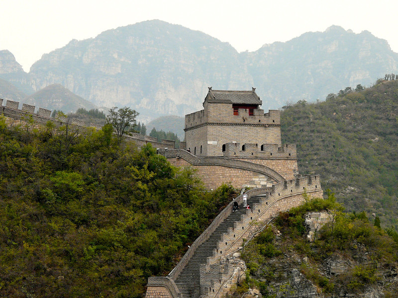 The Great Wall of China is worthy of your bucket list. But beware that the steps are steep, deep and rough. It may be an issue if you're afraid of heights.