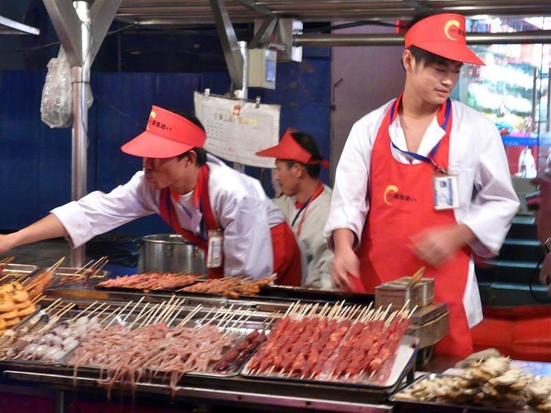 Beijing food market