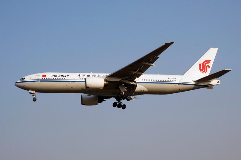 B-2067 Boeing 777-2J6 c/n 29746 Beijing-Capital/ZBAA/PEK 08-11-12