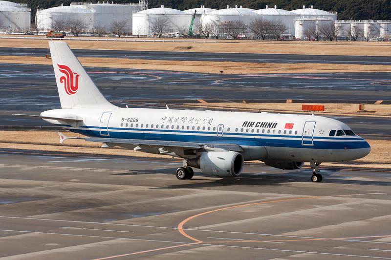B-6228 Airbus A319-115 c/n 2890 Tokyo-Narita/RJAA/NRT 25-02-11