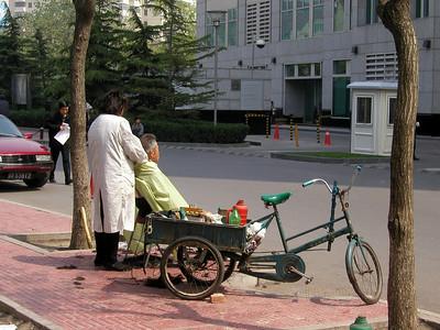 haircut time - Beijing 2002