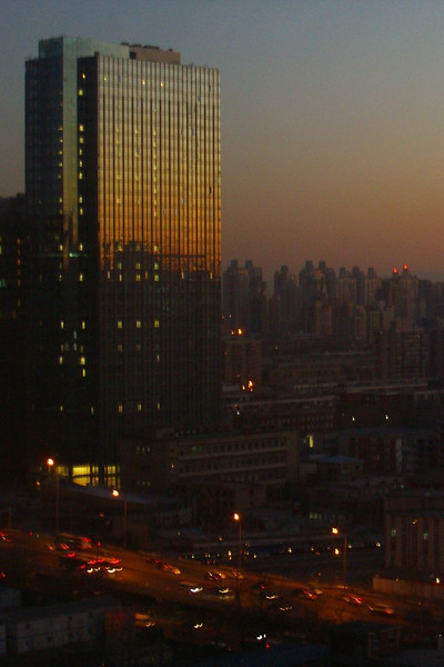 Beijing Sunset - Beijing, China