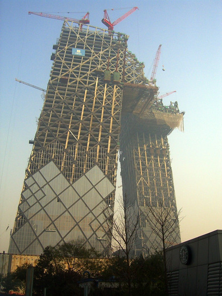 CCTV Building on the Rise - Beijing, China