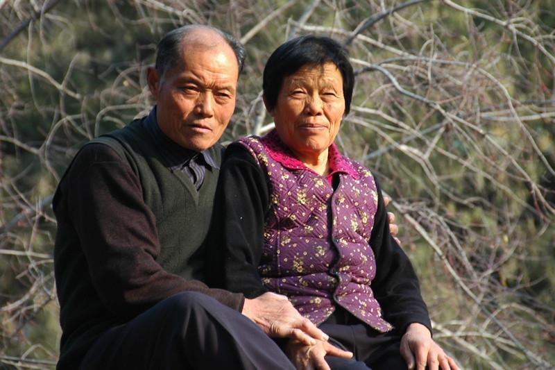 Older Chinese Couple - Beijing, China
