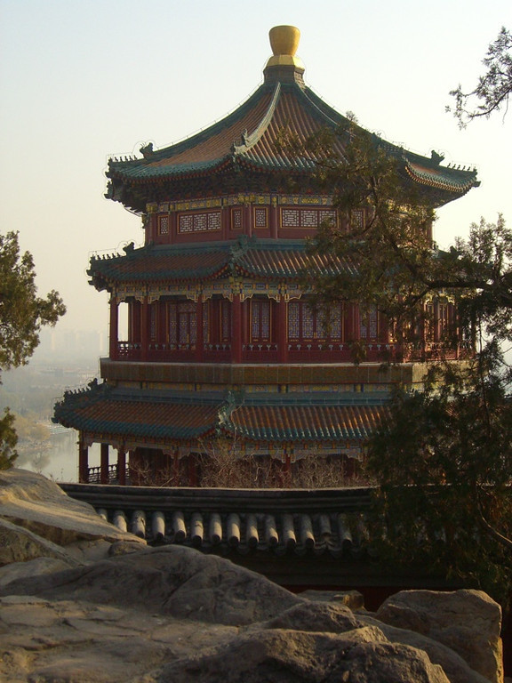 Tower of Buddhist Incense, Summer Palace - Beijing, China