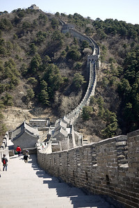 Views of the Great Wall of China from Mutianyu