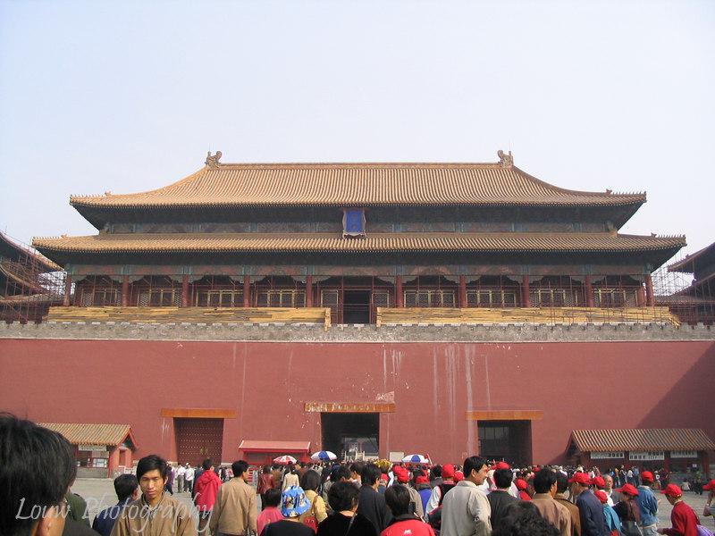 Wu Men (Meridian Gate), Forbidden City