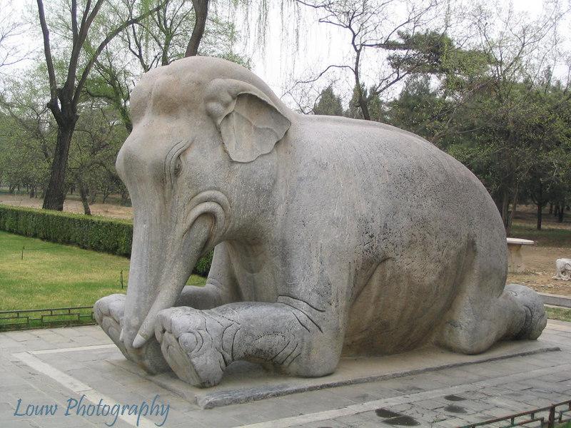 Elephant, Way of Spirits, Ming Tombs