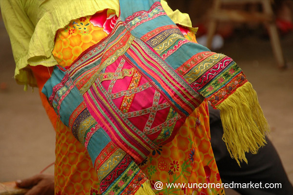 Colorful Ethnic Minority Bag - Xishuangbanna, China