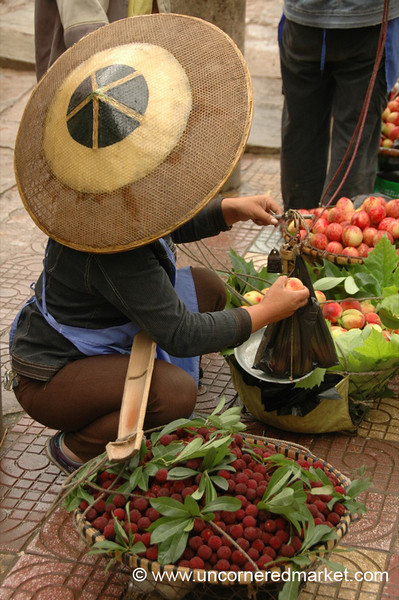 Fruit Vendor - Guizhou Province, China