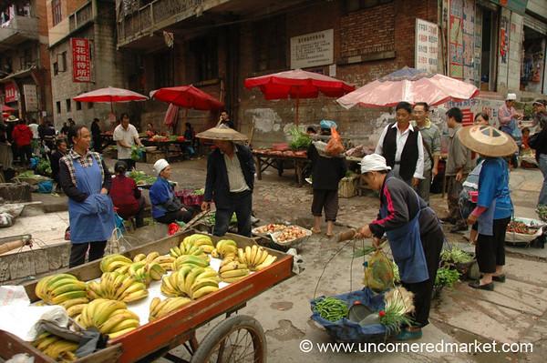 Kaili's Market Streets - Guizhou Province, China