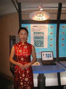Chengdu Sun Microsystems technology show, March 2002