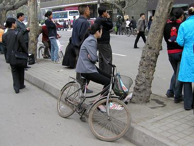 Chengdu Mobile Phone Market area March 2002