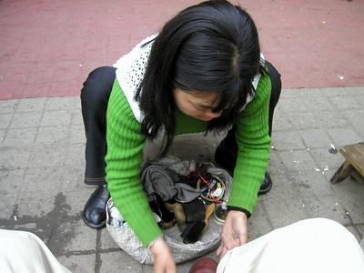 Chengdu show shine, March 2002
