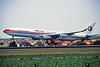 B-2380 Airbus A340-313X c/n 129 Brussels/EBBR/BRU 20-07-96 (35mm slide)