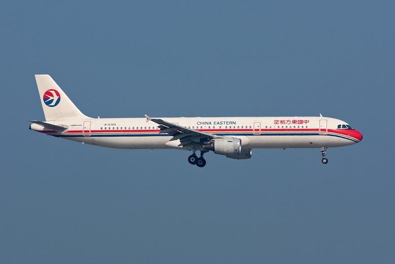 B-6369 Airbus A321-231 c/n 6381 Hong Kong/VHHH/HKG 20-11-10