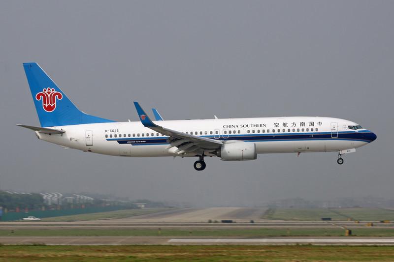 B-5646 Boeing 737-81B c/n 38932 Guangzhou/ZGGG/CAN 15-11-12