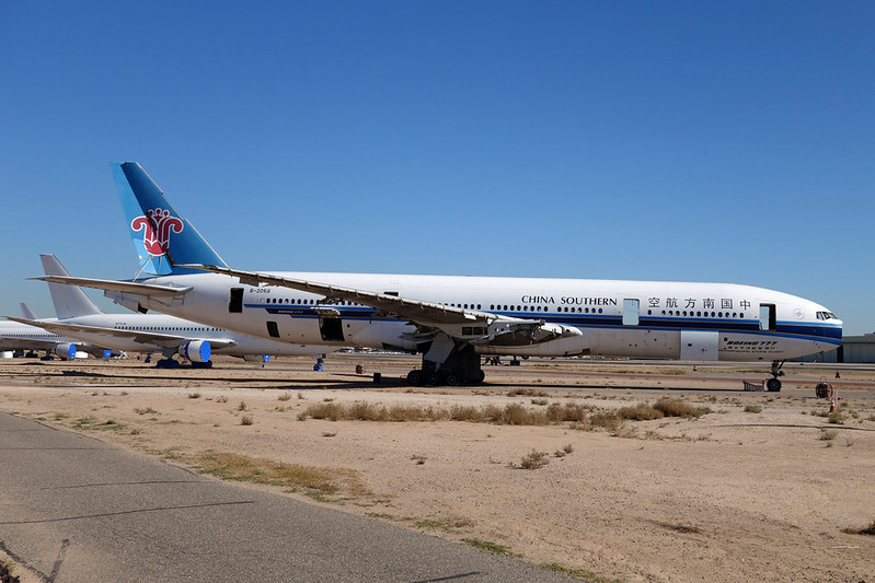 """B-2058 Boeing 777-21BER """"Leasing Company"""" c/n 27605 Goodyear/KGYR/GYR 15-11-16 """"China Southern Airlines"""""""