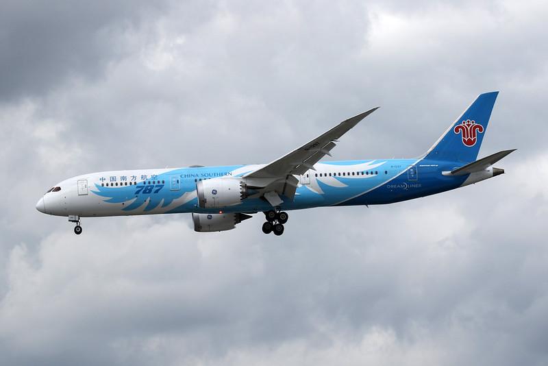 B-1297 Boeing 787-9 Dreamliner c/n 63980 Heathrow/EGLL/LHR 21-07-19