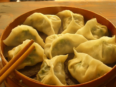 Steamed Chinese Dumplings - Kunming, China