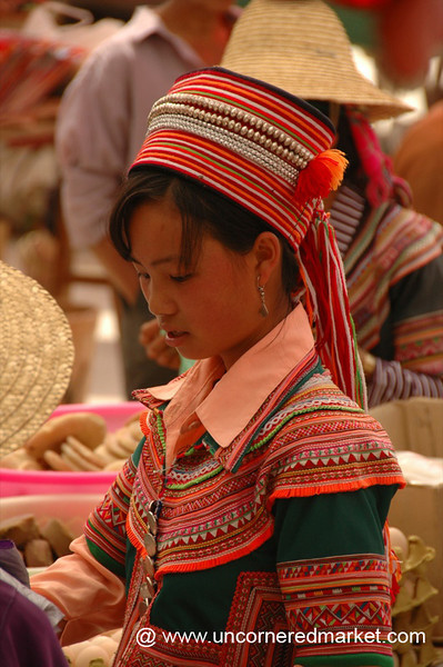Hani Woman in Traditional Dress - Yuanyang, China