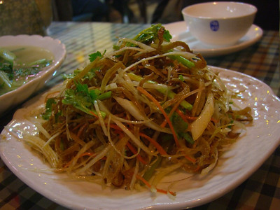 Chinese Salted Fish Dish - Qingdao, China