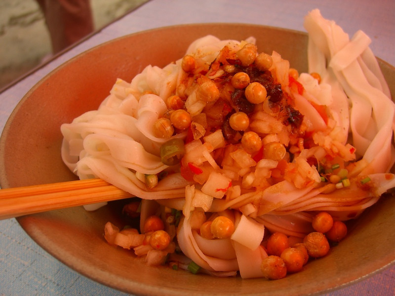 Cold Noodle Salad - Guizhou, China