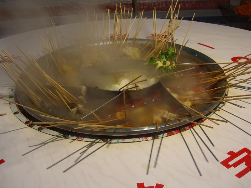 Street Food Hot Pot - Qingdao, China